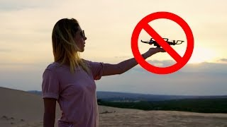 (2min) How to Palm Launch and Land the DJI Spark... I can't believe I've seen so many people drop it