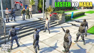 GTA 5 : MICHAEL PLANNING TO KILL NEW PRESIDENT LESTER || BB GAMING