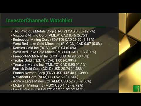 InvestorChannel's Gold Watchlist Update for Friday, June 1 ... Thumbnail