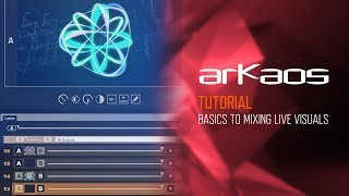 ArKaos Grand VJ Video Tutorial - 7. GrandVJ & XT (Tutorial): Basics of Mixing Live Visuals