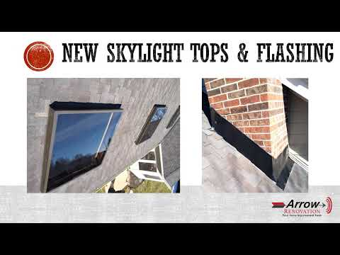 Flashing and Skylight Tops Installed on Overland Park, KS Home