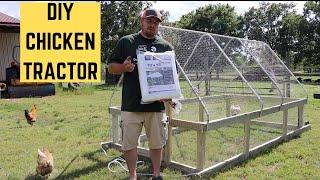The Best BACKYARD Chicken Tractor Design On Youtube!!! John Suscovich Chicken Tractor Design