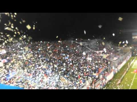 """Nacional 0 vs corinthians 0 2016 recibimiento"" Barra: La Banda del Parque • Club: Nacional"