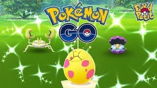 Clamperl  - (Pokémon) - FESTIVAL DE SHINY Y HUEVOS ALOLA EN LAS INVESTIGACIONES DE CLAMPERL! [Pokémon GO-davidpetit]