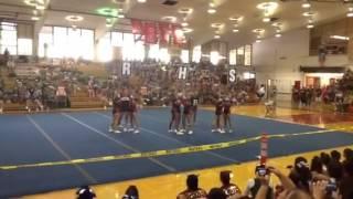 (R)adford Rams Varsity OIA Comp 2012