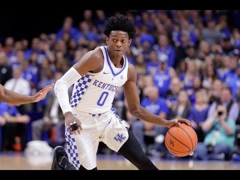 De'Aaron Fox - Kentucky Highlights 2017
