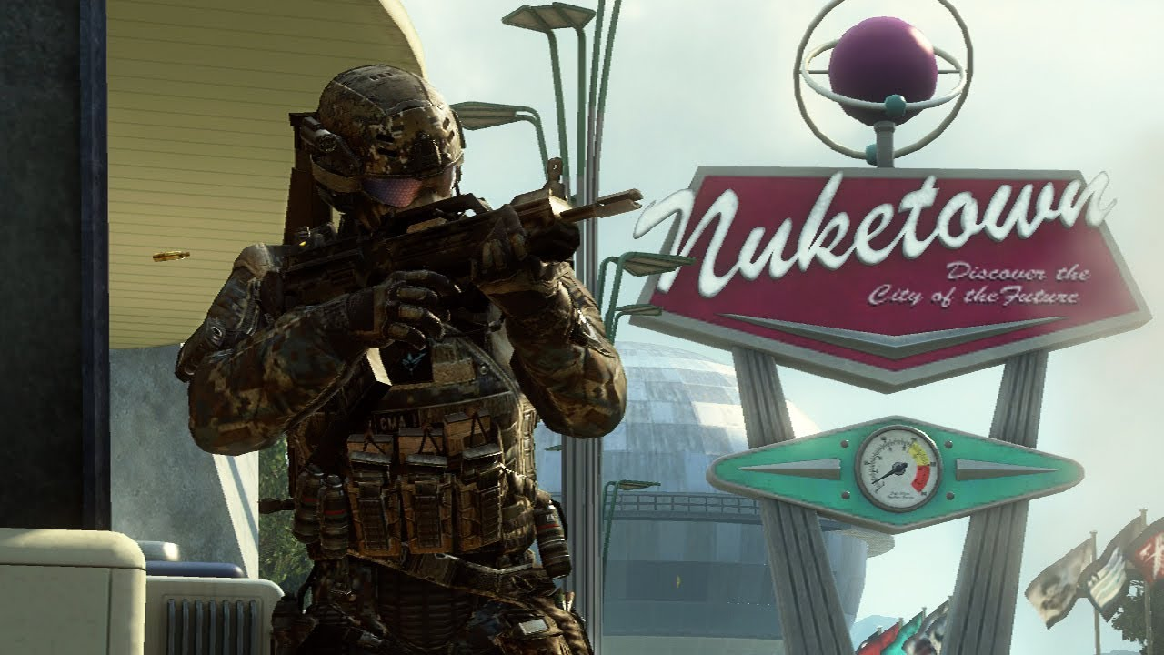 A Call Of Duty: Black Ops II Map Called 'Nuketown 2025'