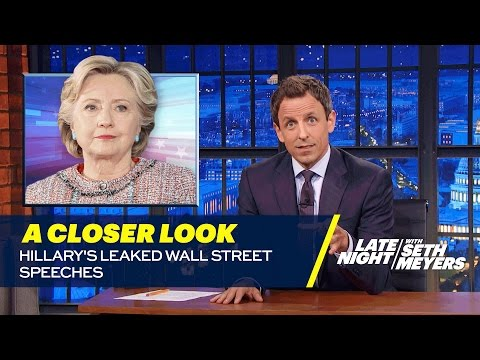 Hillary's Leaked Wall Street Speeches: A Closer Look