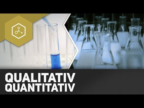 Qualitativ vs Quantitativ - Analyse in der Chemie ● Gehe auf SIMPLECLUB.DE/GO & werde #EinserSchüler