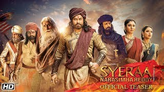 Sye Raa Narasimha Reddy -  Official Hindi Teaser