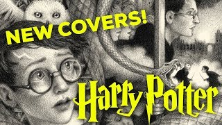 NEW HARRY POTTER COVERS BY BRIAN SELZNICK
