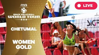 Chetumal 3-Star - 2018 FIVB Beach Volleyball World Tour - Women Gold Medal Match