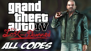 GTA IV TLAD - ALL CHEATS + Demonstration [PC/PS3/Xbox360]