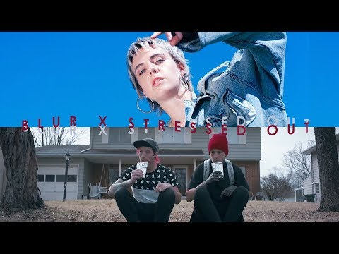 BLUR X STRESSED OUT - MØ X TWENTY ONE PILOTS (CONCEPT MASHUP)