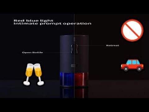 Xiaomi Huohou Automatic Wine Bottle Opener Kit Electric Corkscrew With Foil Cutter - BANGGOOD