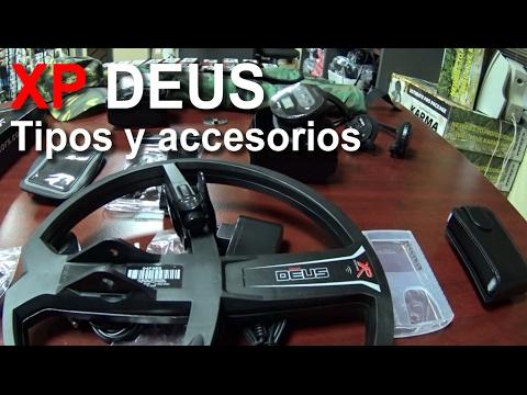 XP Deus - Tipos y accesorios - Mundodetector.com