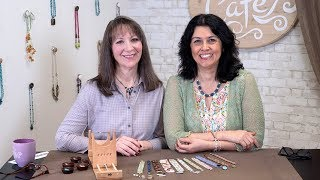 Artbeads Cafe - Beading Loom Tips With Cynthia Kimura And Cheri Carlson
