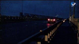 На мосту в Деревяницах уличное освещение не работает уже несколько недель