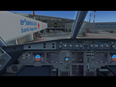FSX | Aerosoft Airbus + FS2Crew + VATSIM Takeoff | EGKK