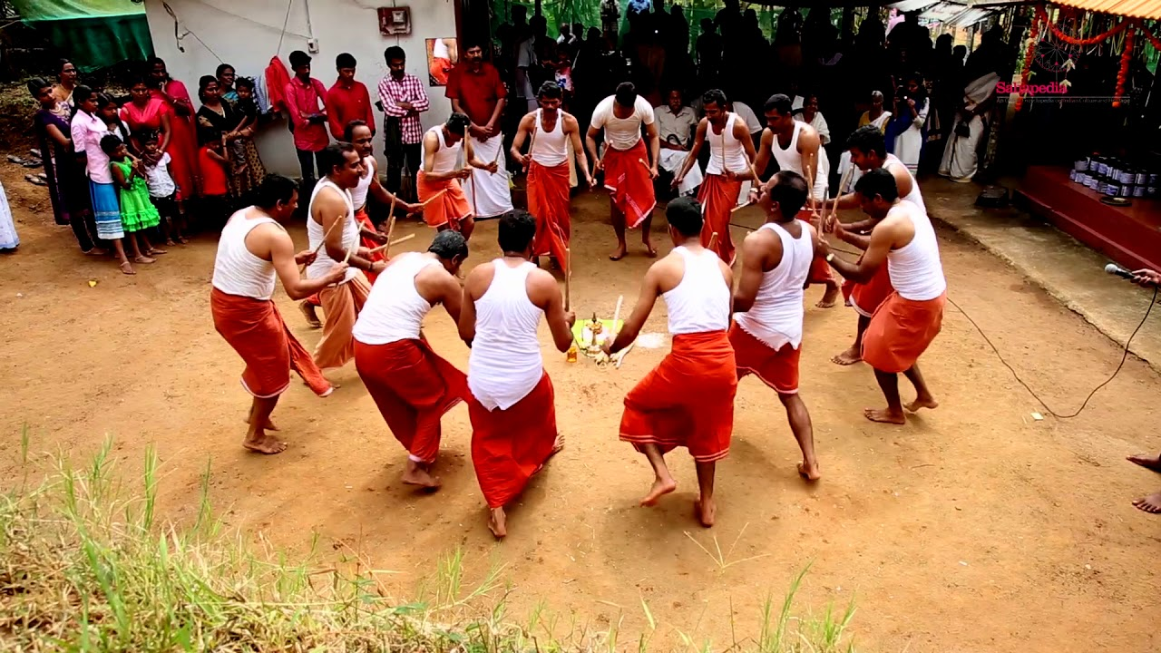 Kolkali Performance by Wayanadan Chettis | Sahapedia