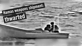 Izraelské námořnictvo zmařilo pokus o propašování zbraní Hamasu