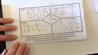 Four Corner And Diamond Graphic Organizer Explained!