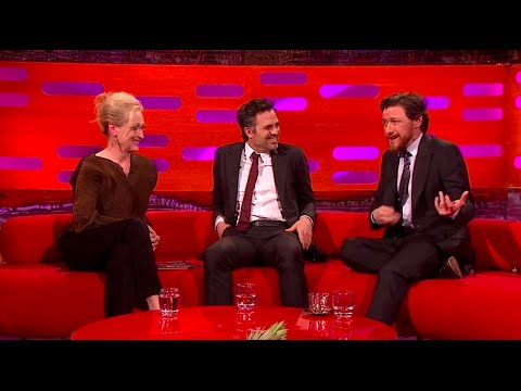 The Graham Norton Show with James McAvoy, Meryl Streep, Mark Ruffalo 09 Jan 2015