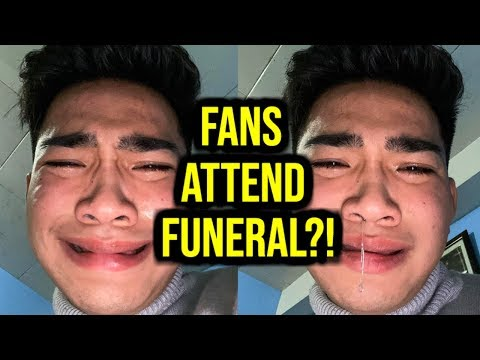 BRETMAN ROCK COMES FOR FANS WHO ATTENDED HIS DAD'S FUNERAL!