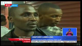 KTN Prime: A group of youths in Nakuru are making a killing in unique labelling of school uniforms