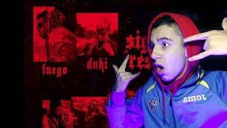 (REACCIÓN) Fuego, Duki - Sigo Fresh (Audio)