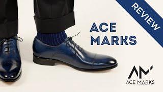 Ace Marks Mens Dress Shoe Review: Diablo Tramonto Patina Wholecut Oxfords (& More)