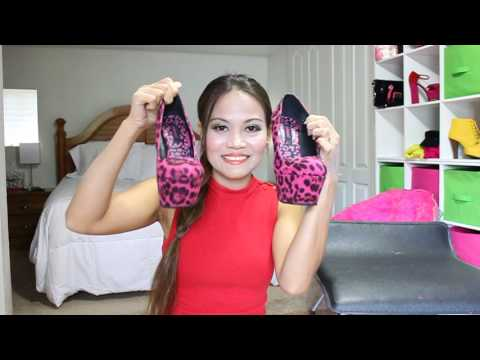 Review of Dollhouse Platfrom High Heels, Breckelles Heels, & Qupid Platform Heels