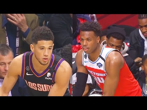 2020 NBA 3 Point Contest Final Round Devin Booker vs Buddy Hield! 2020 NBA All-Star Weekend