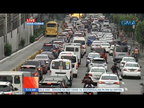 [GMA]  UB: Traffic update as of 7:13 a.m. (July 13, 2020)