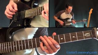 How to play Knockin' On Heaven's Door Pt.1 - Guns N' Roses - All the riffs