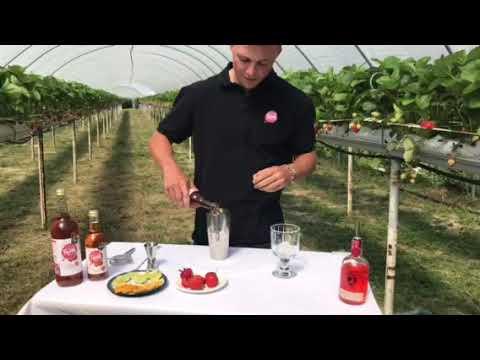 Barn Farm Drinks 'Strawberry Fair' Cocktail