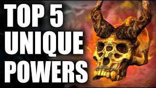 Skyrim - Top 5 Unique Powers