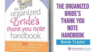 How to Write Bridal Shower and Wedding Thank You Cards | Thank You Note Handbook Book Trailer