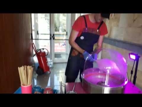 Máquina de Algodón de Azúcar en Las Palmas Gran Canaria