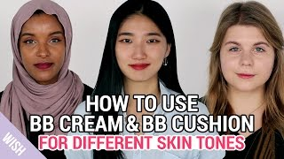 The Best Korean BB Cream & BB Cushion for Different Skin Tones | What is BB Cream?