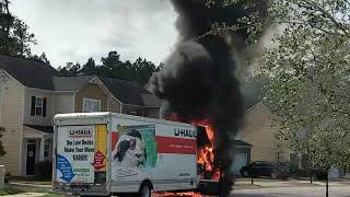 Loaded U Haul Truck Destroyed By Fire West Of Red Bank Swlexledger