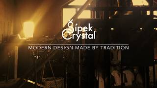 Welcome to the Sipek Crystal glass works