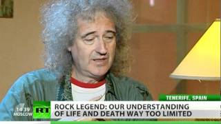 Brian May to RT: I still feel Freddie's around