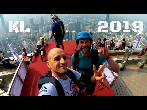 Malaysia KL Tower International BASE Jump