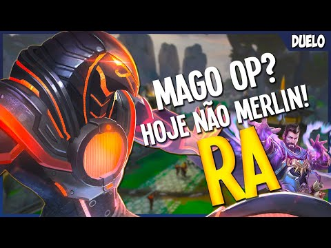 Mago OP? Hoje não MERLIN! | RA (Ranked Duel Smite Brasil)