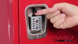 LockeyUSA EC-790 Electronic Locker Lock Installation