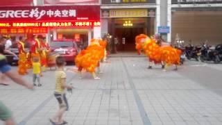 preview picture of video 'Haikou Lion Dance'