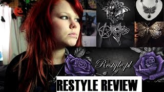 RESTYLE JEWELRY HAUL - Gothic Necklaces, Rings And Brooches
