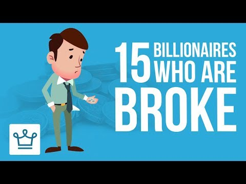 15 Billionaires Who Are Now Broke
