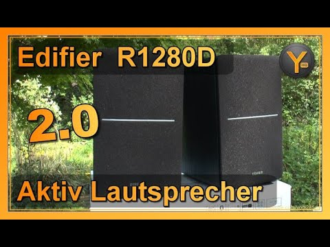 Review: Edifier Studio 2.0 Aktiv-Lautsprecher R1280DB | Bluetooth, Digital & Analog Audio